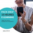 *EXCLUSIVITÉ* Pack DDA 15H - 100% e-learning