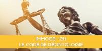 E-Learning ALUR : IMMO02 Le code de déontologie en immobilier