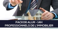 E-Learning ALUR : PACK06 Professionnel de l'immobilier (14H)
