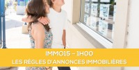 E-Learning ALUR : IMMO15 Les règles d'annonces immobilières