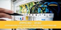 E-Learning : DIAG02 Etat de l'installation intérieure d'électricité