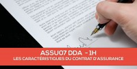 E-Learning : ASSU07 DDA Les caractéristiques essentielles du contrat d'assurance