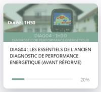 E-Learning : DIAG04 Les essentiels de l'ancien diagnostic de performance énergétique (avant réforme)