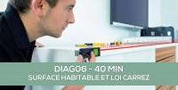 E-Learning : DIAG06 Les essentiels de la surface habitable et loi Carrez