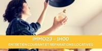 E-learning ALUR: IMMO23 L'entretien courant et les réparations locatives