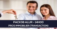 E-learning : PACK08 ALUR - Carte Professionnel Immobilier à distance en ligne (Transaction 14H)