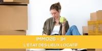 E-learning ALUR: IMMO26 L'état des lieux