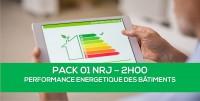 E-learning PACK01 NRJ : Performance énergétique des bâtiments