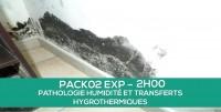 E-learning PACK02 EXP: Pathologie humidité et transferts hygrothermiques