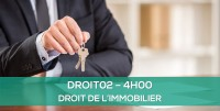 E-learning DROIT02 - Droit immobilier
