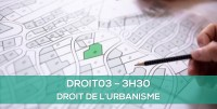 E-learning DROIT03 - Droit de l'urbanisme