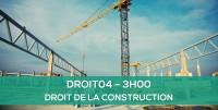 E-learning DROIT04 - Droit de la construction