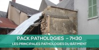 E-learning PACK - Les principales pathologies du bâtiment