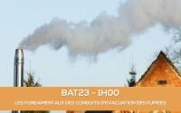 E-learning BAT23 : Les fondamentaux des conduits d'évacuation des fumées