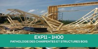 E-Learning EXP11 : Pathologies des charpentes et structures en bois