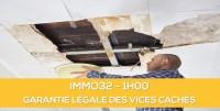 E-learning ALUR : IMMO32 La garantie légale des vices cachés