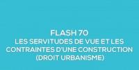 Flash-learning 70 : Les servitudes de vue et contraintes d'une construction