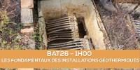E-learning BAT26 : Les fondamentaux des installations géothermiques
