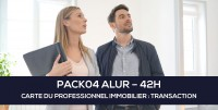 E-Learning ALUR : PACK04 Carte du professionnel immobilier (TRANSACTION - 42H)