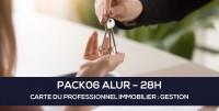 E-Learning ALUR : PACK06 Carte du professionnel immobilier (GESTION - 28H)