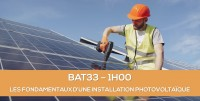 E-learning BAT33 : Les fondamentaux d'une installation photovoltaïque