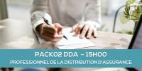 E-Learning : PACK02DDA - Professionnels de la distribution d'assurance (15 heures)