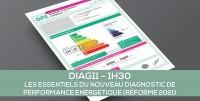 E-learning : DIAG 11 Les essentiels du nouveau diagnostic de performance énergétique (réforme 2021)