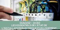 E-learning : DIAG02 Les essentiels de l'état de l'installation intérieure électrique d'un logement