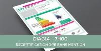 DIAG14 : RECERTIFICATION DPE SANS MENTION : formation continue obligatoire des opérateurs  (7H)