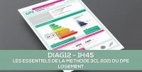 E-learning : DIAG12 Les essentiels de la méthode 3CL 2021 du DPE Logement