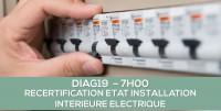 DIAG19 : RECERTIFICATION ELECTRICITE SANS MENTION : Formation continue obligatoires des opérateurs (7H)